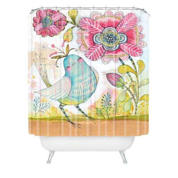 Cori Dantini I Love You More Shower Curtain