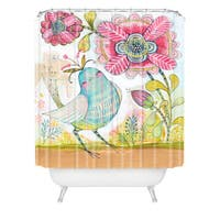 Cori Dantini I Love You More Shower Curtain