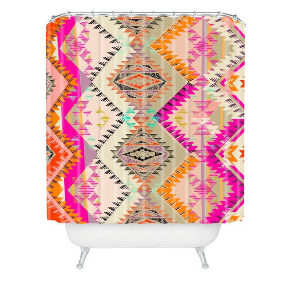 Pattern State Marker Southern Sun Shower Curtain