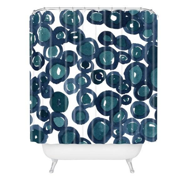Social Proper Saltwater Shower Curtain