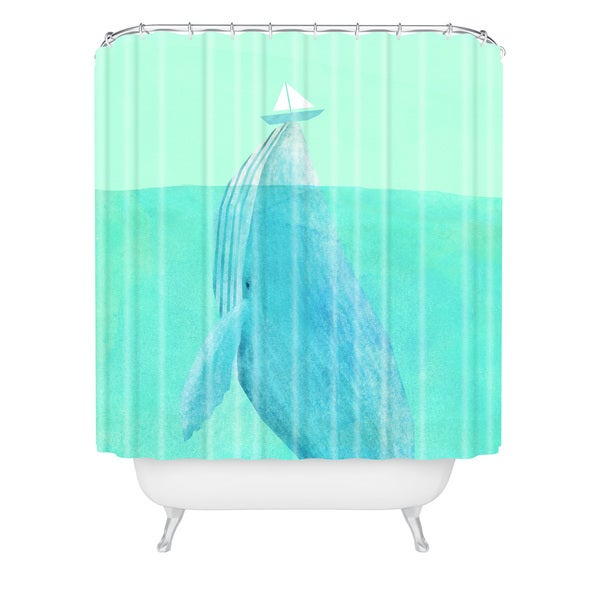 Eric Fan Lift Shower Curtain