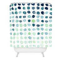 Social Proper Fallen Shower Curtain