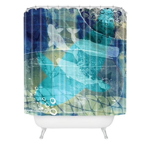 Barbara Chotiner Ocean Dream Shower Curtain