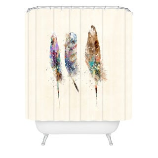 Brian Buckley Free Feathers Shower Curtain