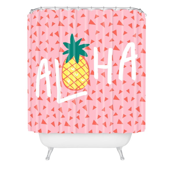 Zoe Wodarz Aloha Darling Shower Curtain