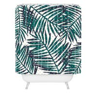 Zoe Wodarz The Palm Hotel Shower Curtain