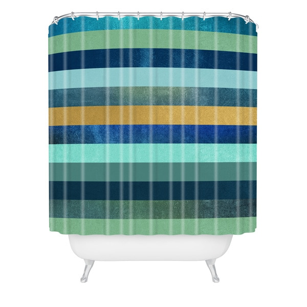 Elisabeth Fredriksson Ocean Deep Shower Curtain