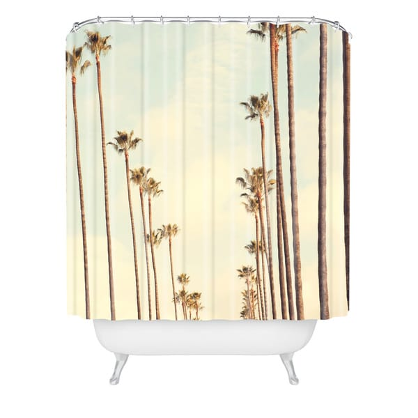Catherine Mcdonald Los Angeles Palms Shower Curtain