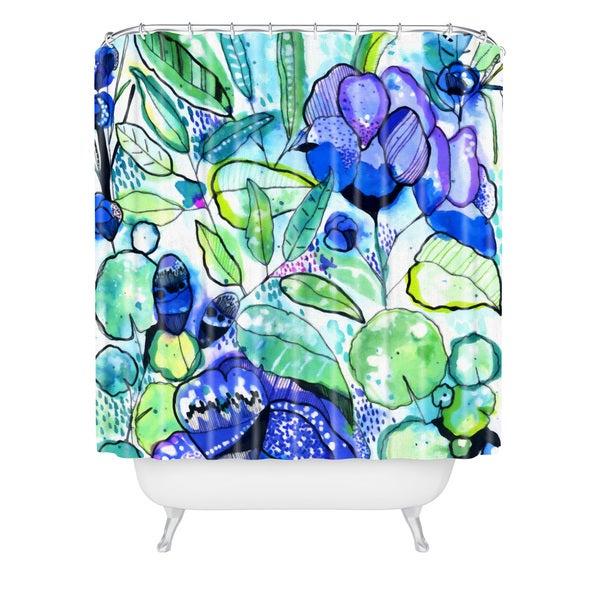 Cayenablanca Water Field Shower Curtain
