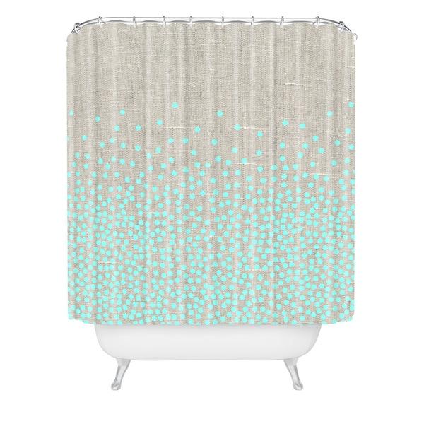 Iveta Abolina Hint Of Mint Shower Curtain