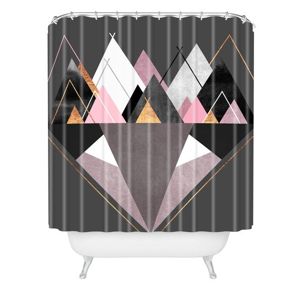 Elisabeth Fredriksson Nordic Mountain Fox Shower Curtain