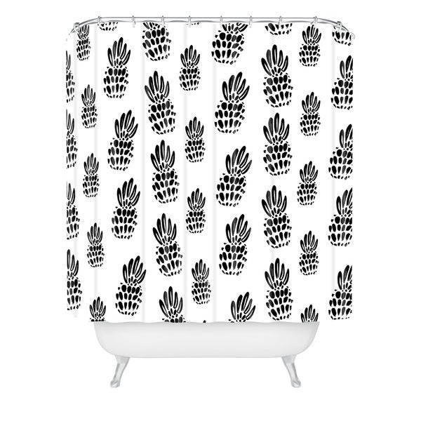 Allyson Johnson Classy Pines Shower Curtain