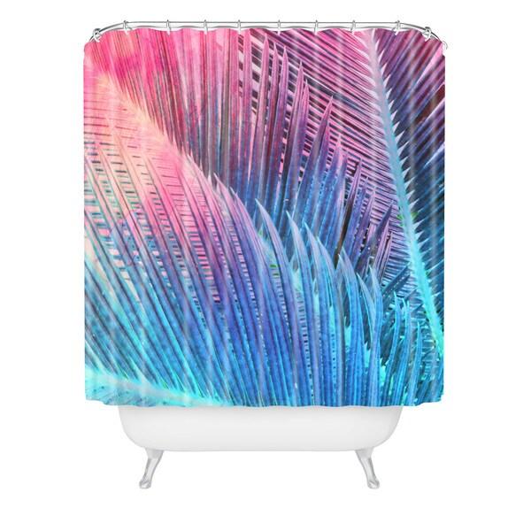 Emanuela Carratoni Palm 1 Shower Curtain