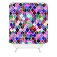 Schatzi Brown Marrakech Market Tilemix Shower Curtain