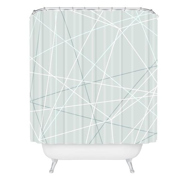 Mareike Boehmer Pastel Lines 2 Shower Curtain