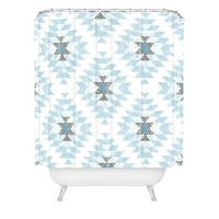 Dash And Ash Dwelling Dawn Shower Curtain