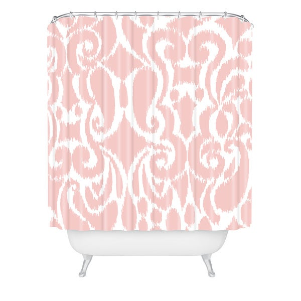 Khristian A Howell Blush Eloise Shower Curtain