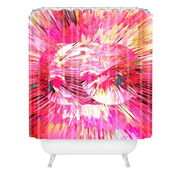 Adam Priester Color Explosion Ii Shower Curtain - Multi