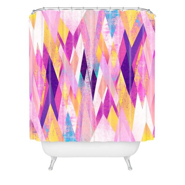 Elisabeth Fredriksson Geo Summer Shower Curtain