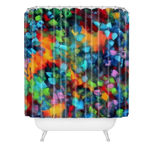 Madart Inc. Color Blast Shower Curtain