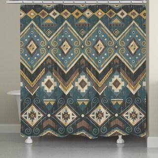 Laural Home Southwestern Flair Shower Curtain