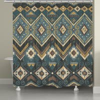 Laural Home Southwestern Flair Shower Curtain