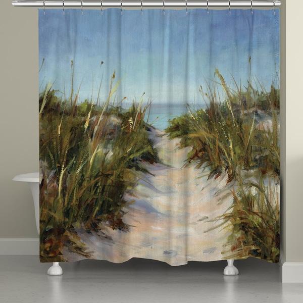 Laural Home Beach Getaway Shower Curtain