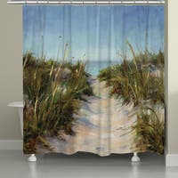 Laural Home Beach Getaway Shower Curtain