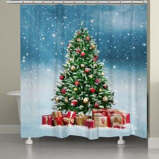 Laural Home Winter Wonderland Shower Curtain