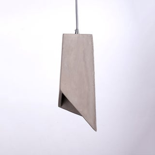 Cement Shade Iron Irregular Box Design Pendant Light