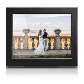 "Aluratek 8"" Slim Digital Photo Frame with Auto Slideshow Feature