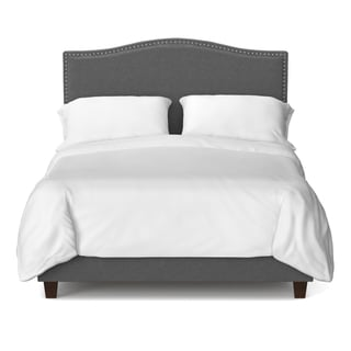 Portfolio Noleta Parisian Smoky Grey Upholstered King Bed