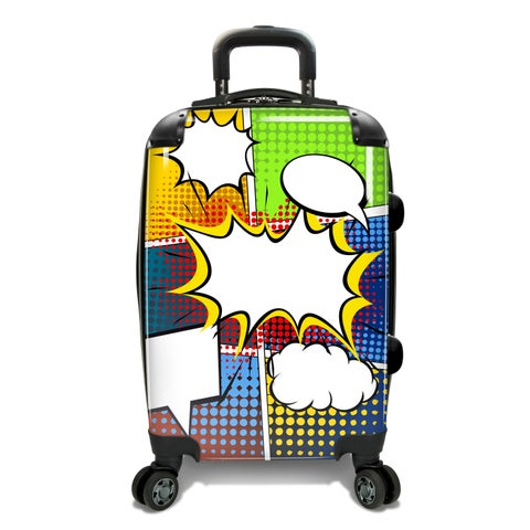 Traveler's Choice 22-inch Pop Expandable Hardside Carry-On Spinner Suitcase