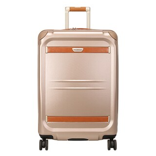 Ricardo Beverly Hills Ocean Drive 25-inch Hardside Spinner Suitcase (Option: Beige)