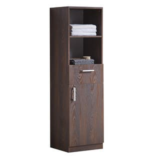 Infurniture Brown Elm-finish Wood 71-inch Side Cabinet|https://ak1.ostkcdn.com/images/products/12848728/P19612583.jpg?impolicy=medium