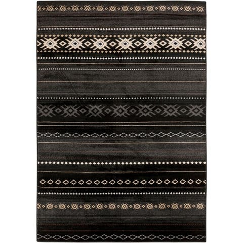 The Curated Nomad Zanjero Southwestern Aztec Area Rug