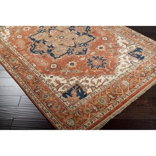Hand-Knotted Conor New Zealand Wool Rug (3'9 x 5'9)