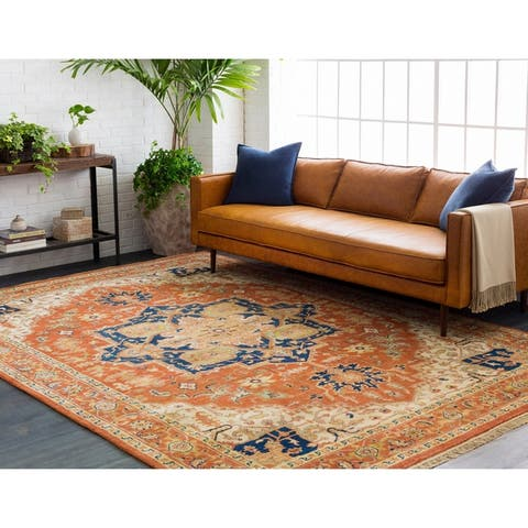 Hand-Knotted Conor New Zealand Wool Area Rug