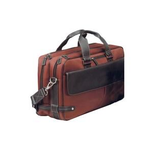Goodhope Trans Continental 17-inch Laptop Briefcase (Option: Orange)
