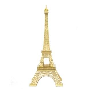 Three Hands Decorative Gold Resin Eiffel Tower