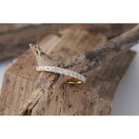 De Couer 14k Yellow Gold 1/2ct TDW Wedding Band