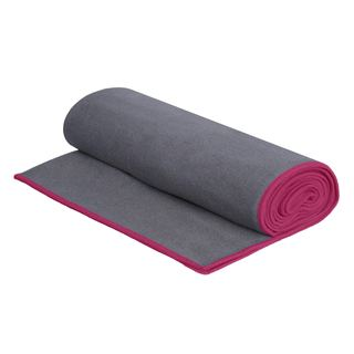 Microfiber Non-Slip Machine-Washable Yoga Towel, Ideal for Hot Yoga, Bikram Yoga, Ashtanga Yoga and General Fitness (Option: Pink)