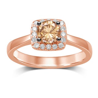 Unending Love 14K Rose Gold Diamond Fashion Ring