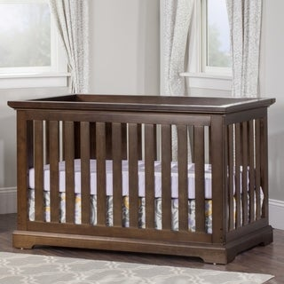 Kayden 4-in-1 Slate Brown Convertible Crib