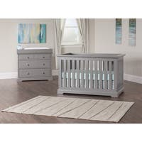 Kayden Cool Gray 4-in-1 Convertible Crib