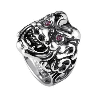 Stephen Webster Sterling Silver Ruby Japanese Warrior Mask Ring|https://ak1.ostkcdn.com/images/products/12850372/P19613937.jpg?impolicy=medium
