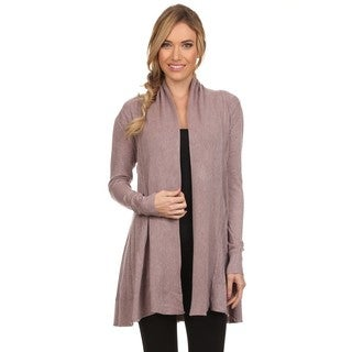 High Secret Women's Knit Open-front Cardigan