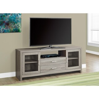 Dark Taupe 60-inches Long Storage TV Stand