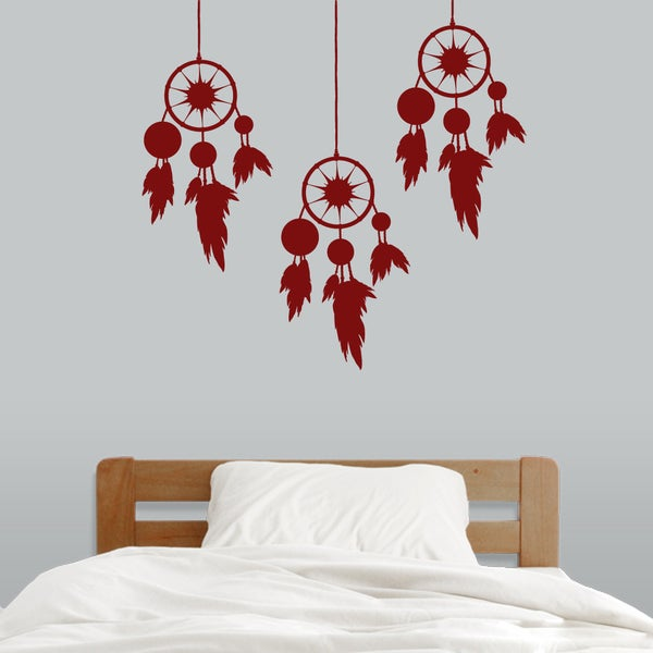 Large Dream Catcher Set Wall Decal. Opens flyout.