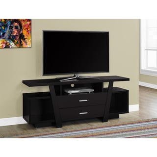 2-drawer Cappuccino 60-inch Wide TV Stand